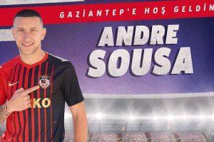 Andre Sousa Gazişehir Gaziantep