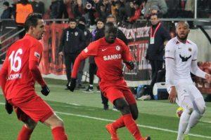 Gazişehir Gaziantep FK Kar Keyfi Yaşadı