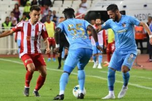 Gazişehir FK lider Sivasspor'u konuk ediyor