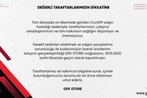 Gazişehir'de koronavirüs önlemi