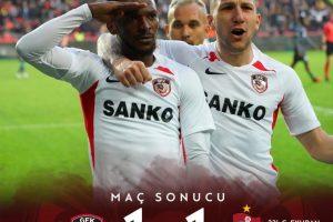 Gazişehir Gaziantep Trabzonspor'a