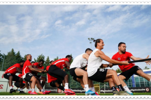 Gaziantep FK antrenman